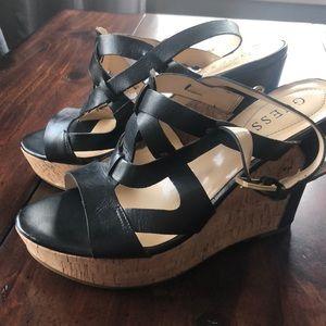 Women's GUESS wedge sandal